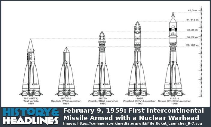 February 9, 1959: First Intercontinental Missile Armed ...