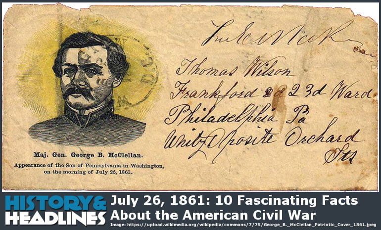 details of the american civil war from 1861 The ancestry american civil war collection 1861–1865 records featuring details about 178,000 african-american troops who served the union during the civil war.