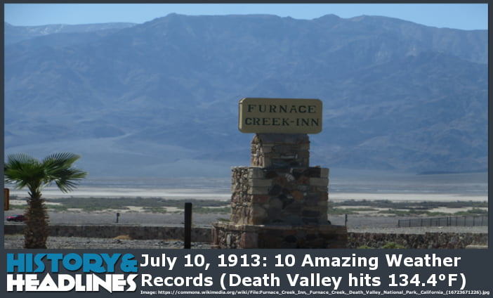 Death Valley Record Image