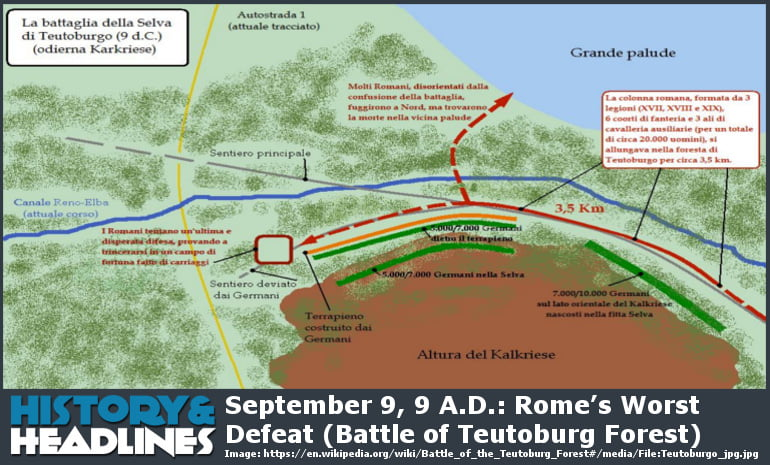 Battle of Teutoburg Forest