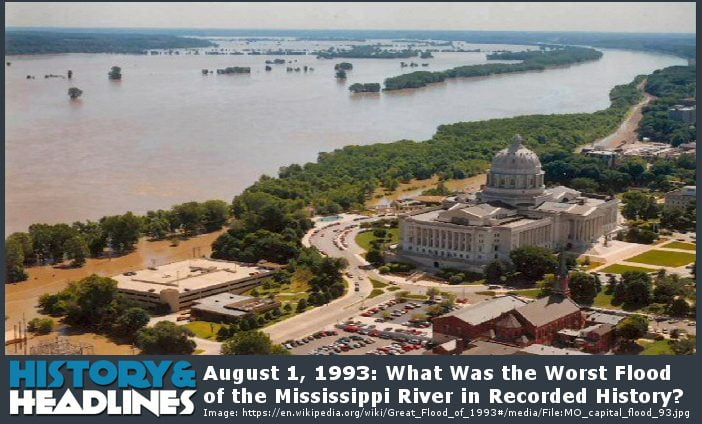 Great Mississippi and Missouri Rivers Flood of 1993