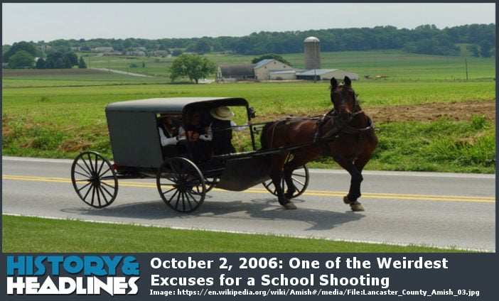 Amish schoolhouse