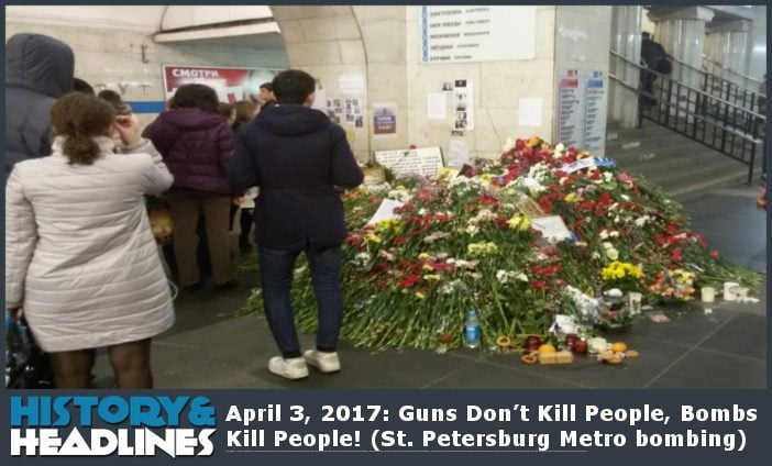 2017 Saint Petersburg Metro bombing