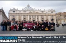 students travel