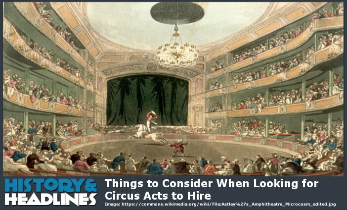 circus acts