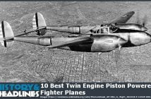 twin engine piston powered fighter planes