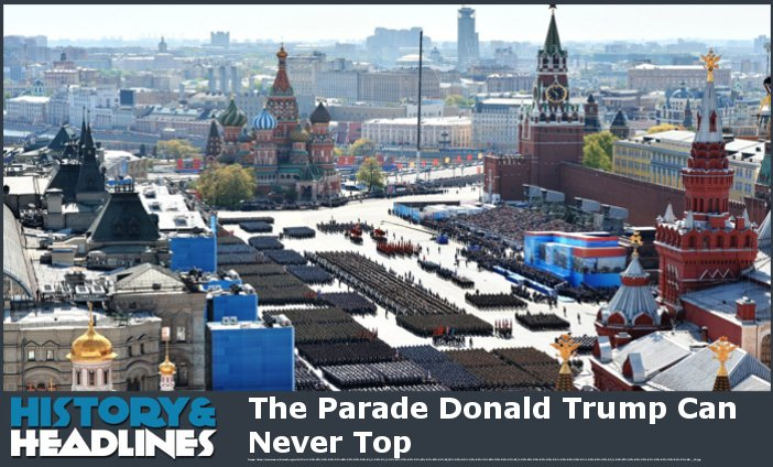most massive military parade