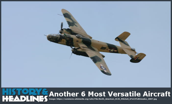 most versatile aircraft